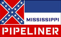 Mississippi Pipeliner Sticker