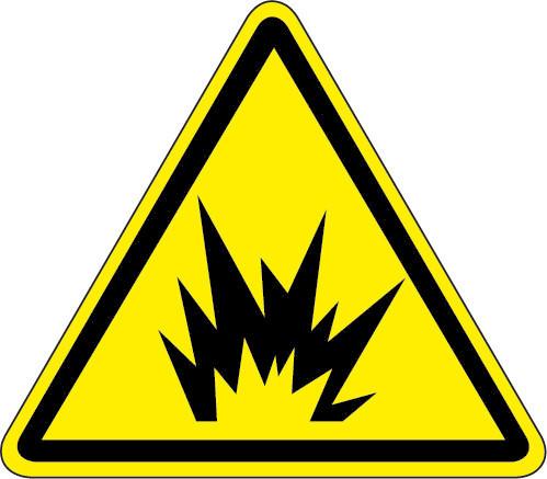 Arc Flash Hazard Iso Triangle Hazard Symbol