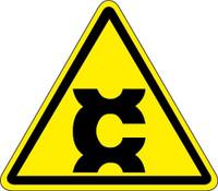 Carcinogen Hazard (ISO Triangle Hazard Symbol)