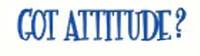 Got Attitude?  -  Bumper Sticker