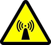 Electro Magnetic Hazard (ISO Triangle Hazard Symbol)