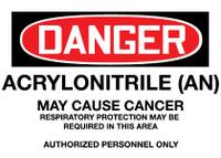 GHS Danger Acrylonitrile (AN)