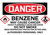 GHS Danger Benzene