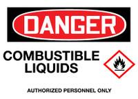 GHS Danger Combustible Liquids