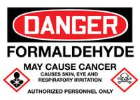 GHS Danger Formaldehyde