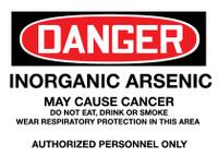 GHS Danger Inorganic Arsenic