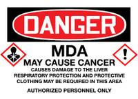 GHS Danger MDA