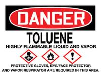 GHS Danger Toluene