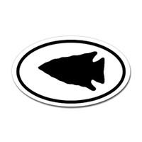 Hunting Oval Bumper Sticker #1