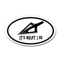 Hunting Oval Bumper Sticker #10