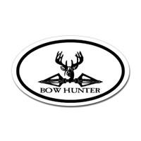Hunting Oval Bumper Sticker #17