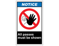 ANSI Notice All Passes Must Be Shown 1