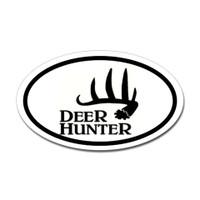 Hunting Oval Bumper Sticker #27