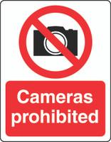 Cameras Prohibited