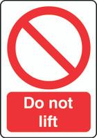 Do Not Lift