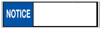 Custom ANSI Notice (Wide Format - Version #2)