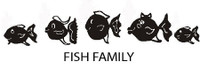 Fish Family Decals