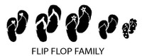 Flip Flop Family Decals
