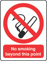 No Smoking Beyond This Point 1
