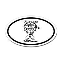Karate Oval Bumper Sticker #7