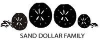 Sand Dollar Family Decals