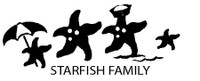Starfish Family Decals