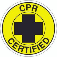 CPR Certified Hardhat Sticker
