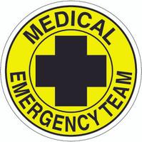 Medical Emergency Team Hardhat Sticker