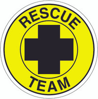Rescue Team Hardhat Sticker