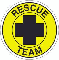 Rescue Team Hardhat Sticker