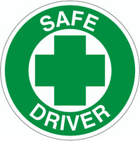 Safe Driver Hardhat Sticker
