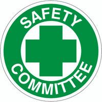 Safety Committee Hardhat Sticker