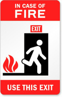 In Case Of Fire Use This Exit