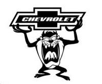 Chevrolet Taz Decal