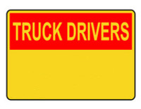 Customizable Truck Drivers Blank