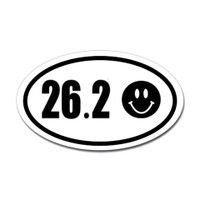 26.2 Oval Bumper Sticker #2