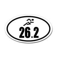 26.2 Oval Bumper Sticker #8