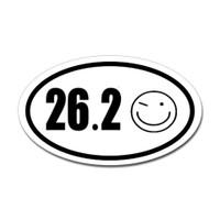 26.2 Oval Bumper Sticker #9