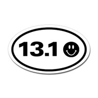 13.1 Oval Bumper Sticker #3