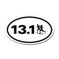 13.1 Oval Bumper Sticker #4