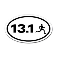 13.1 Oval Bumper Sticker #5