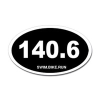 140.6 Oval Bumper Sticker #1