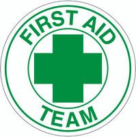 First Aid Team Hardhat Sticker