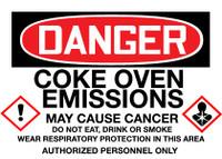 GHS Danger Coke Oven Emissions