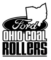 Ford Ohio Coal Rollers Decal