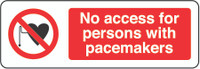 No Access For Persons With Pacemakers