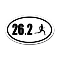 26.2 Oval Bumper Sticker #6