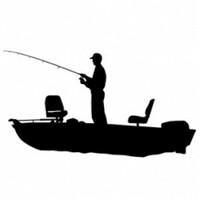 Boat Fishing Decal