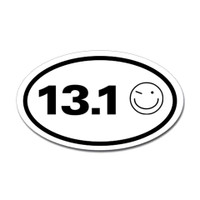 13.1 Oval Bumper Sticker #2