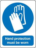 Hand Protection Must Be Worn 1